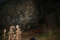 Rock Climbing Photo: Main boulder at Putah Creek.