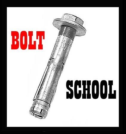 Rock Climbing Photo: Bolt School
