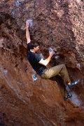 Rock Climbing Photo: S.I.N.