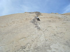 Rock Climbing Photo: First visit to Joshua Tree.