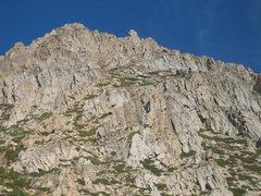 Rock Climbing Photo:  The Golden Eagle Buttress