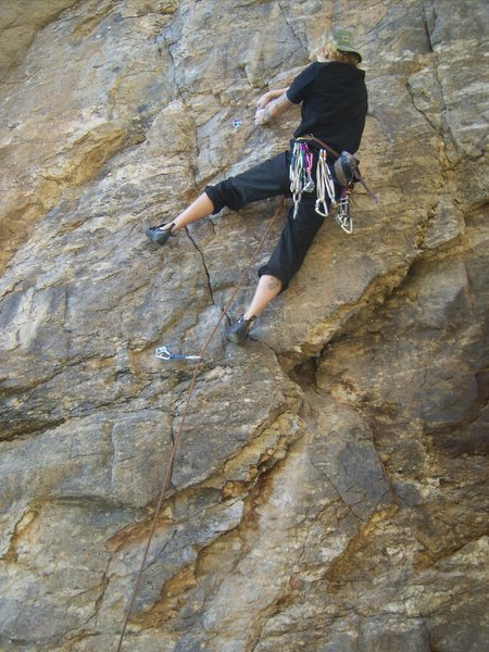 """Unknown route below """"Rosie"""" if you know what it is please feel free to fill in.<br> Thanks Mt. Lemmon for everything."""