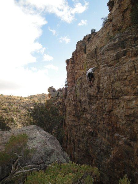 Rock Climbing Photo: derek at the chains