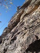 Rock Climbing Photo: beautiful day on solitary