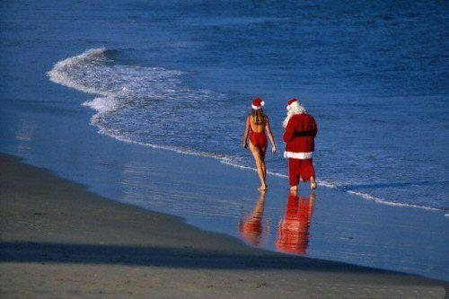 Santa has the right idea.