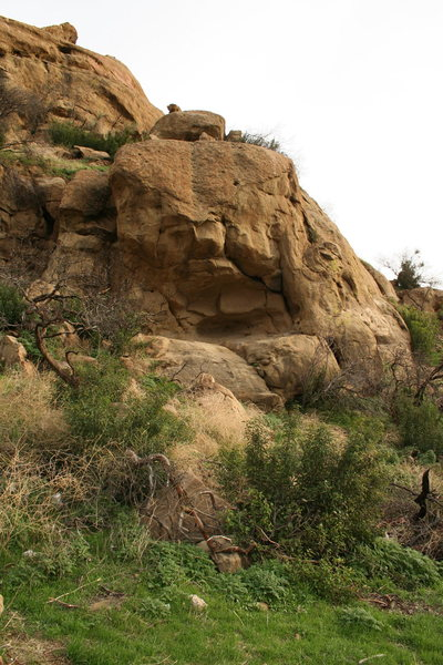 Rock Climbing Photo: This rock is home to Stoney Point's newest route/t...