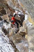 Rock Climbing Photo: james otey on the jug before the business