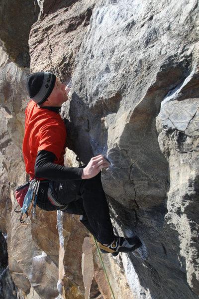 Rock Climbing Photo: otey... peanut man... nuff said...