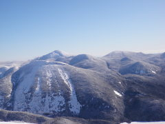 Rock Climbing Photo: Mt Colden from Algonquin Summit.  Mt Marcy in the ...