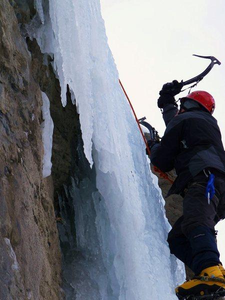 Rock Climbing Photo: Me TR'ing