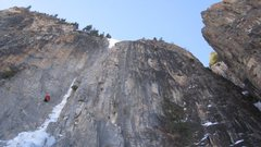 Rock Climbing Photo: First belay station 9 Jan 2010. You can see all th...