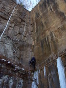 Rock Climbing Photo: I believe this is Soggy Bottom Boys, it was far le...