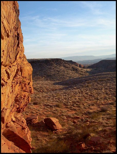 Rock Climbing Photo: Cougar Cliffs