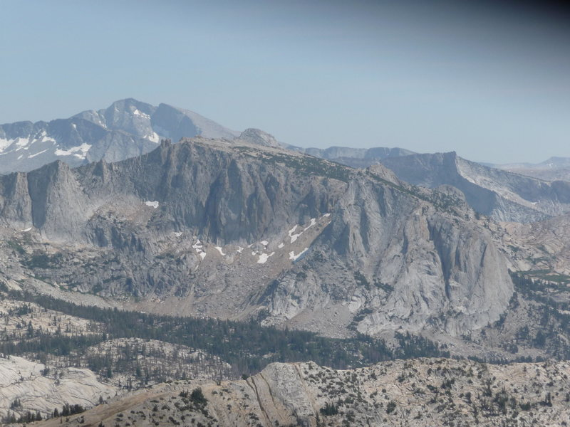 The Cirque above Nelson Lake, as seen from the Matthes Crest
