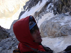 Rock Climbing Photo: Black Ice Couloir