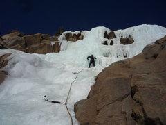Rock Climbing Photo: Jan. 9, 2010. Left side is well formed.