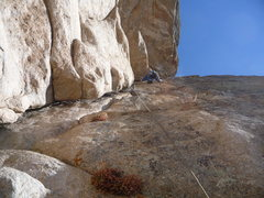 Rock Climbing Photo: High in the stellar corner.