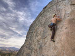 Rock Climbing Photo: Shay caught mid French Blow on Eric's Face [HDR Co...