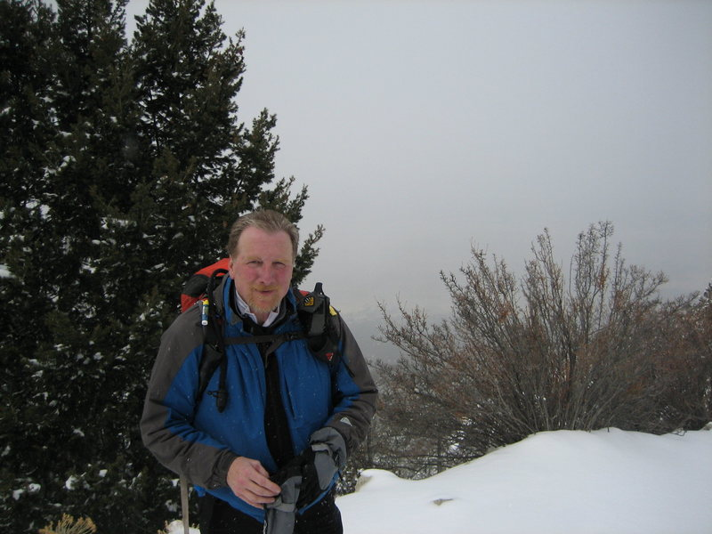 Me on the long Lake Como Road heading to Little Bear.
