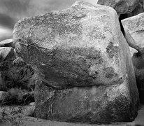Rock Climbing Photo: Feudal Boulder. Photo by Blitzo.