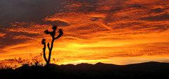 Rock Climbing Photo: High Desert Sunset. Photo by Blitzo.