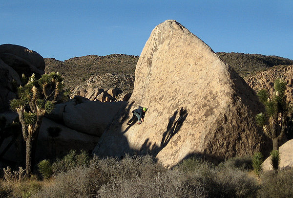 n00bs top roping on Big Brother Boulder.<br> Photo by Blitzo.