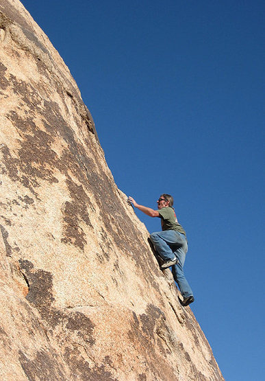"Blitzo soloing on the upper section of ""Gotcha Bush"".<br> Photo by Sonya Dickenson."