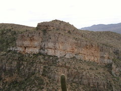 Rock Climbing Photo: North Buttress is on the left side. The rest is th...