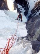 Rock Climbing Photo: Jordon following a nice long pitch one of Horsetai...