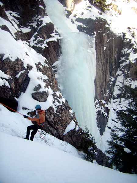 Horsetail Falls.  Jan 9th 2010