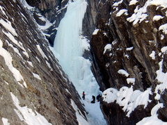Rock Climbing Photo: Next party gearing up for Horsetail Falls Sat Jan ...