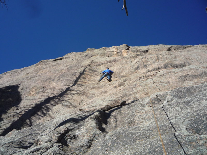 Rock Climbing Photo: Unknown 11b on Skinner MTN.