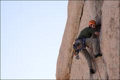 Rock Climbing Photo: me headed up!