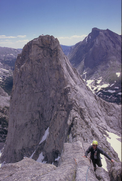Wolf's Head traverse.<br> an amazing mountain with a perfect route
