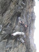 Rock Climbing Photo: Max on City Slickers.