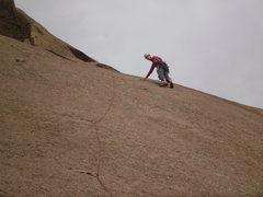Rock Climbing Photo: One more shot of the fun 2nd pitch.
