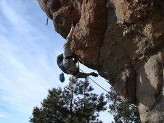 Rock Climbing Photo: Chris again.