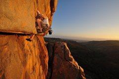 Rock Climbing Photo: Rectum Roof.  Photo by Brent Coe.  Nice job Brent!
