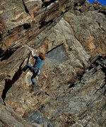 "Rock Climbing Photo: Located on ""The Guppy"" Luke Childers on ..."