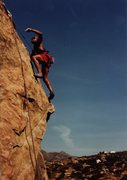 Rock Climbing Photo: Tennessee nears the top of Eat or be Eaten.