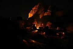 Rock Climbing Photo: Night time in Ryan Campground.