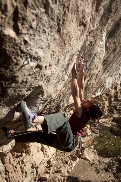 Rock Climbing Photo: Sick Man 5.14b Photo By Dan West