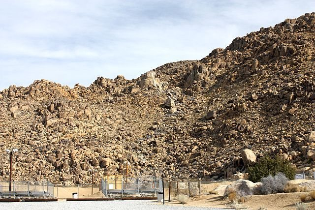 Looking northeast to the BMX Crags, Horseman's Center