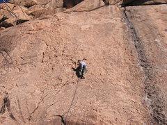 Rock Climbing Photo: Holds everywhere! Super fun climbing on the Quarry...