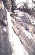 "Rock Climbing Photo: Brad Grohusky on ""Log Jammin'"" back in D..."