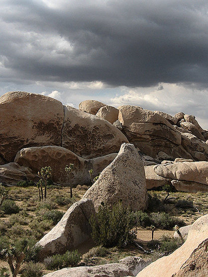Big Brother and Side Kick Boulders.<br> Photo by Blitzo.
