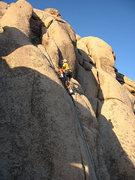 Rock Climbing Photo: Todd Gordon climbing at AFPA. Photo by Blitzo.