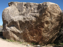Rock Climbing Photo: Indian Wave Boulder. Photo by Blitzo.