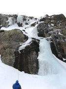 Rock Climbing Photo: The right side of Timberline Falls is a little les...