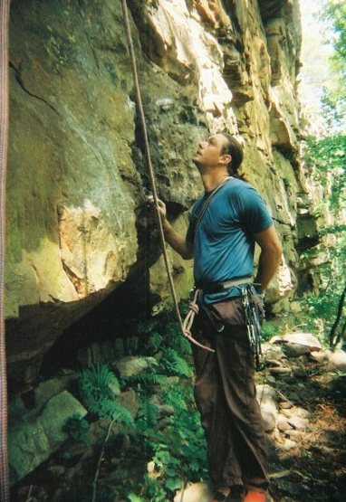 Rock Climbing Photo: yellow bluff
